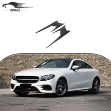 Đối với Mercedes-Benz W213 AMG Carbon Fiber Side <span class=keywords><strong>Vent</strong></span> Trims Trang Trí <span class=keywords><strong>Bìa</strong></span> 2016-2018 Coupe cơ thể kit