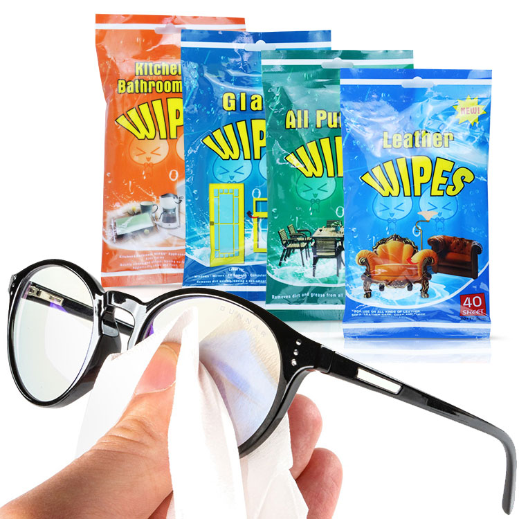 Wholesale high water loth cleaning cloth Glass wipes all purpose clean wipes supplies