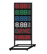 Outdoor-High-helligkeit Service Station 12 zoll LED Digital Preis Display <span class=keywords><strong>Zeichen</strong></span>