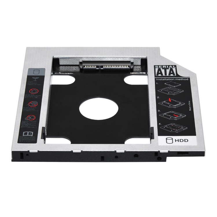 Newest! E-sun 9.5MM to SATA Notebook Drive Hard Drive HDD/SSD Caddy/Bay Adapter/Case