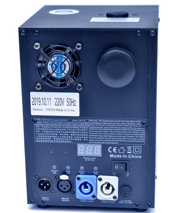 Unico холодного фейерверка электроэрозионного станка является DMX 512 управляемый холодной машина для фейерверков-это Новая инновационная этап машина для фейерверков