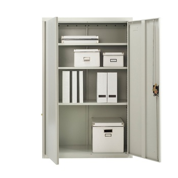 Hot sale office furniture metal 2 door steel storage file cabinet