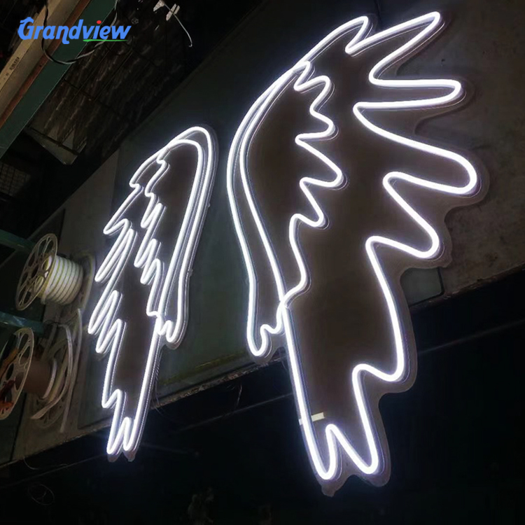 Guangzhou customized color neon sign happy birthday neon sign letter light