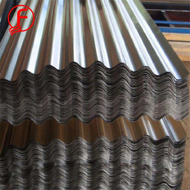 FACO tôle d'acier! 28 jauge feuille de toiture galvanisé fer feuille prix profil