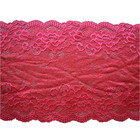 Manufactured lace fabric for lingerie underwear dress garments