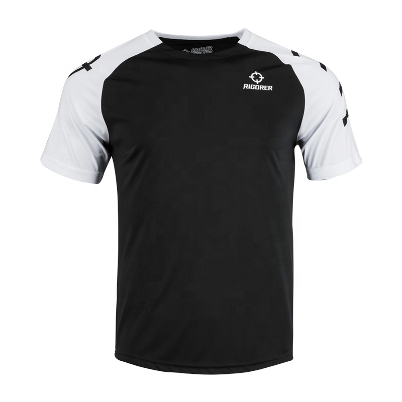 dry fit sports warm up t shirt for men