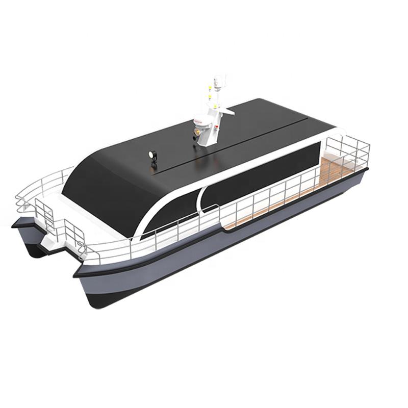 12m 40ft 42 pasajeros de agua de aluminio taxi barco de pasajeros para la venta