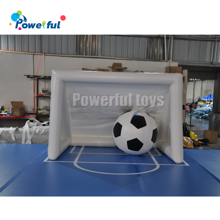 Outdoor sport  football goal gate  Inflatable shooting games Inflatable soccer door