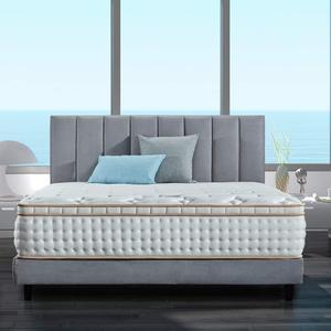 Fireproof UK Standard pocket spring mattress gel infused memory foam matress