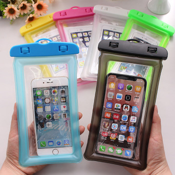 Manufacturer Sports Swimming Floating Waterproof Phone Pouch Bag Case for iPhone 11 X 8 plus Smart Phone