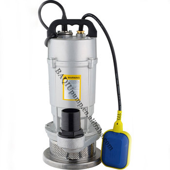 1inch outlet QDX series portable1.5 hp water submersible pump