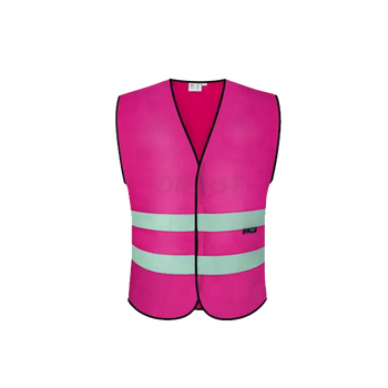 Latest OEM service hi vis kids reflective pink safety vest