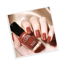 MissCandy NG017 Ahorn Gesunde <span class=keywords><strong>Nagellack</strong></span> China Lieferant Nail art Design Kid Kit Nagel Farbe Lack 15ml