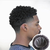 Wig For Black Men, Mens Afro Kinky Curl Human Hair Wig Lace Bases Toupee Unit Piece Replacement System From Chinese Manufacture
