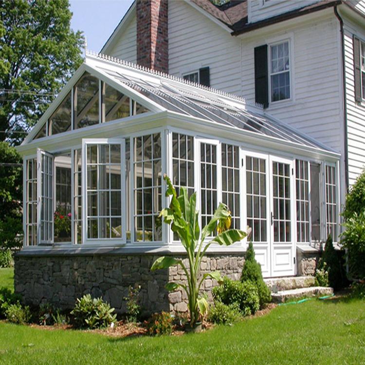 คู่กระจกต่ำราคา conservatory 2019 อลูมิเนียมสีเขียว house