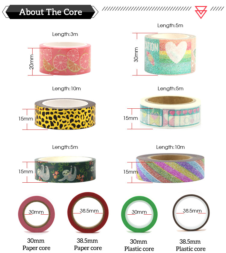 Decorationscrapbook Valentine's Day washi tape love