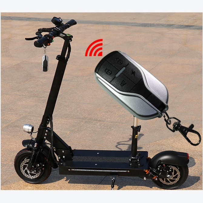 11inch Vacuum Tire Off Road Powerful Strong Dual Motors 2400w Electric Scooter