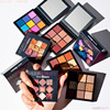 2019 Hot Selling Cosmetic Makeup Alluring 9 Colors Glitter Shimmer Matte Eye Shadow Palette