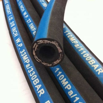 Steel wire braided hydraulic hose SAE100 R1 25mm flexible oil resistant high pressure