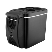 12 В 45 Вт 6л мини-холодильник 2 в 1 отдельно стоящий автомобильный холодильник с низким уровнем шума, теплый портативный для автомобилей, дома, ...(Китай)