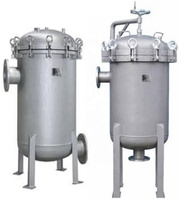 Shanghai Dazhang automatic stainless steel bag filter in chemical, food, beverage industry