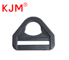 Plastic belt loop strap slider buckle flat d-ring for bag backpack webbing