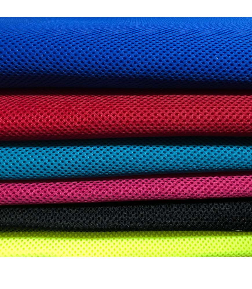 good sell breathable knitted 100% polyester spacer mesh fabric for mattress