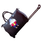Twinkle hot selling rolling tote travel bags with wheel system design