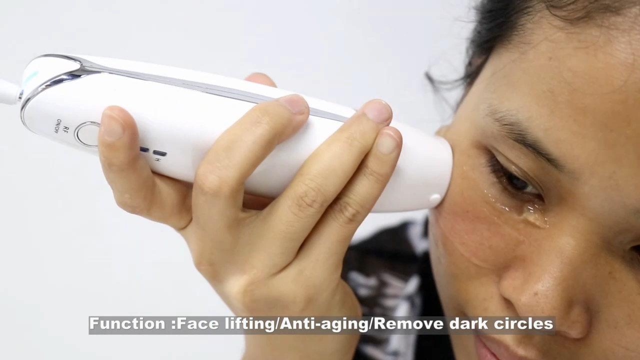 Vmax Face Lifting RF HIFU Home Use Mini Skin Tightening Wrinkle Remover Machine