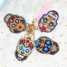 Алмазная вышивка huacan брелок Алмазная картина сумка с вышивкой крестиком брелок алмазные аксессуары для рисования набор рукоделия(Китай)