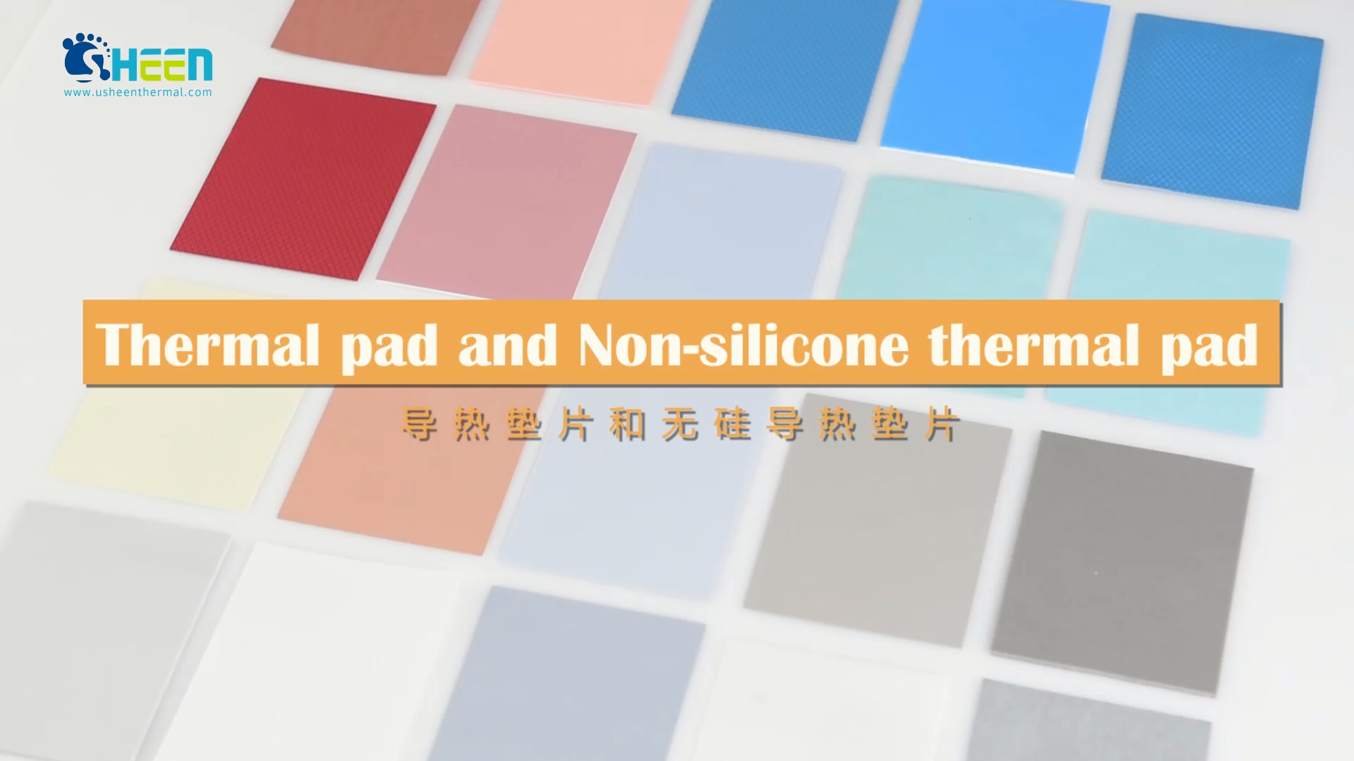 High Quality Insulation Thermal silicone Pad 6w/mk for Heat Sink