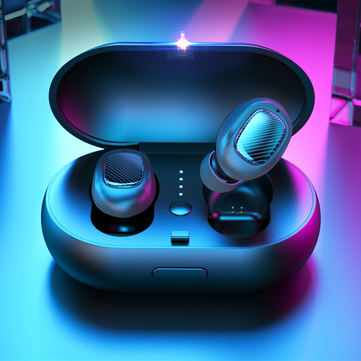 Bluetooths Wireless Earbuds 5.0 with Charging Case Earphones Sports Wireless Headsets