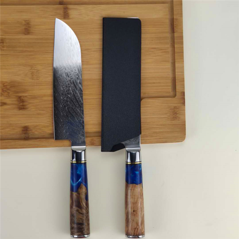 Drop shipping Hot Selling 67 Layers Damascus Steel Kitchen Chef Knife Set