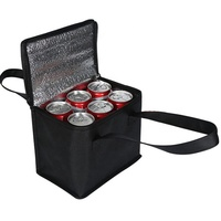 Promotion Custom Promotion Non Woven Beer 6 Pack Cooler Bag