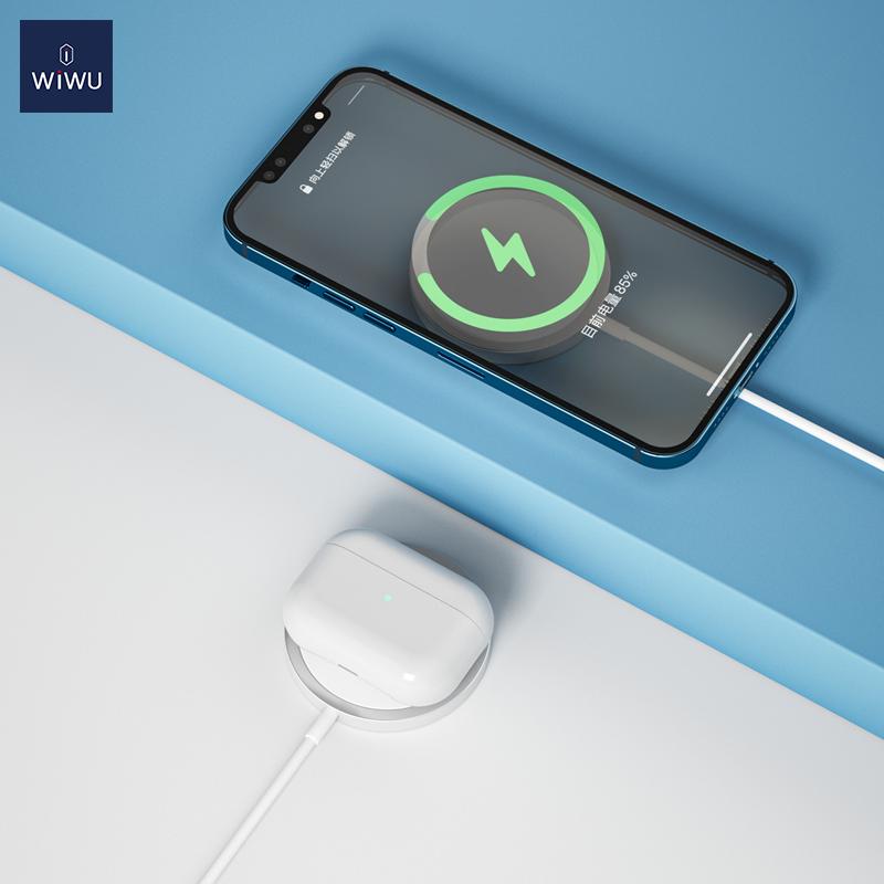 WiWU iPhone12磁吸附 无线充 (https://www.wiwu.net.cn/) 无线充电器 第2张
