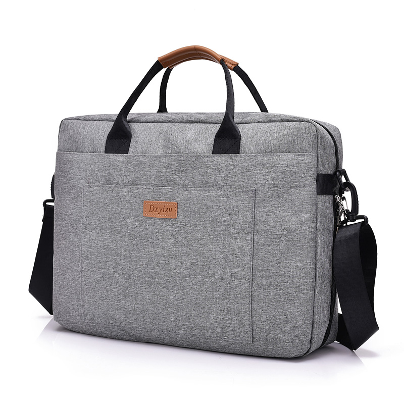 Osgoodway Custom Logo Oxford Business Briefcase School Men Shoulder Messenger Laptop Bag