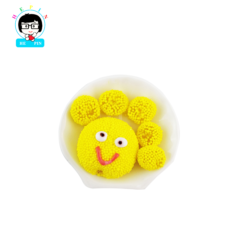 Cartoon Shape Soft Sweet Gummy Fruits Lollipop Candy