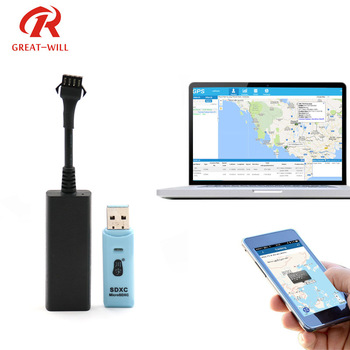 No monthly fee portable car motorcycle auto tracking device mini gsm gps vehicle wire tracker with history playback China
