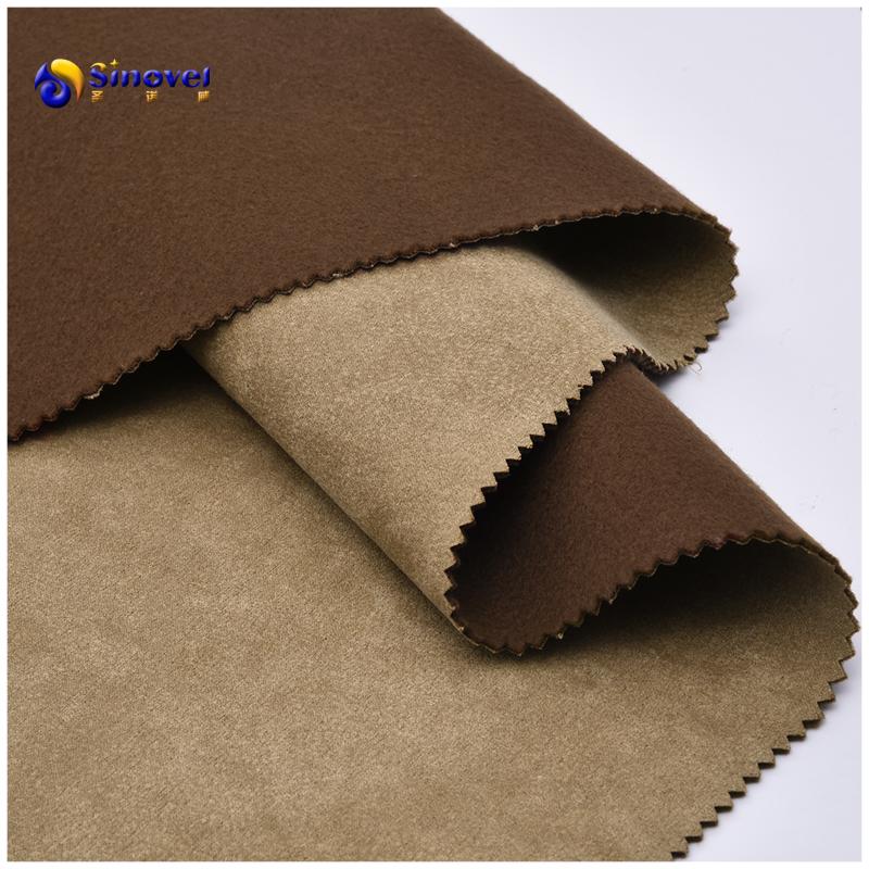 New design furniture microfiber suede sofa fabric in 100% polyester
