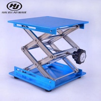 HAIJU LAB Cheap Price Aluminium Oxide 100*100mm Laboratory Lifting Table LJ450-100