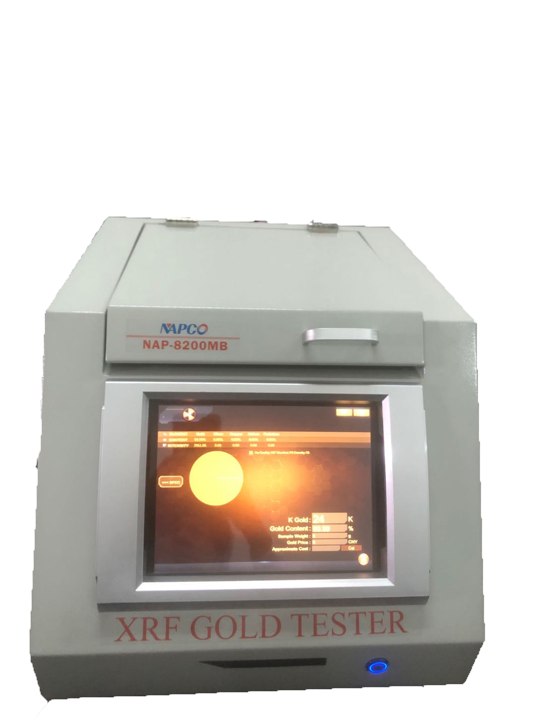 NAP 8200MB china high efficiency xrf gold tester