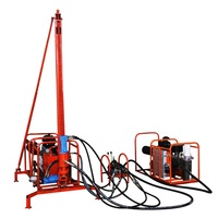Electric and pneumatic gasoline hydraulic mountain mining drill rigs