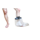 Adult Factory Hot Selling Watertight Bandage Waterpoof Pvc Cast Cover For Reusable Adult Foot