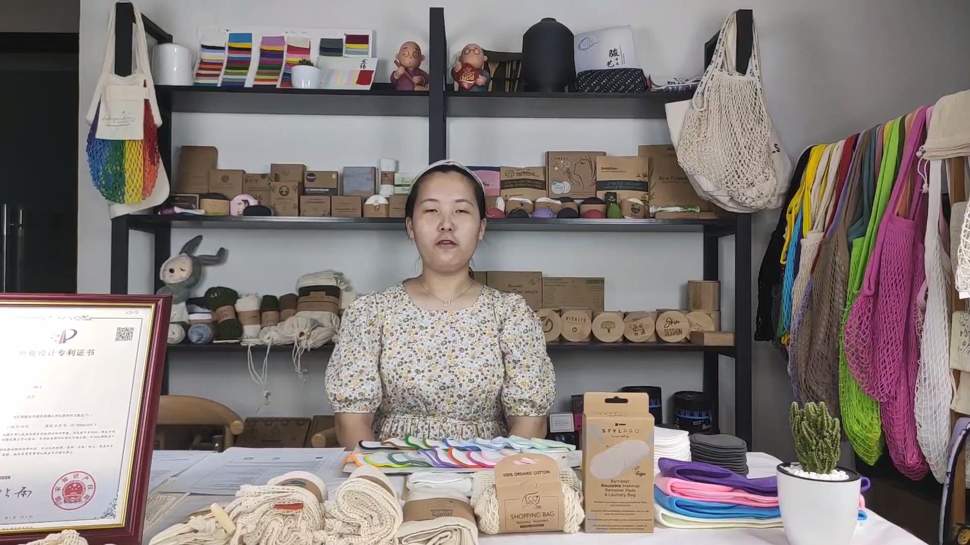 حقيبة يد نسائية سادة من sopurrdy مصنوعة من قماش الكتان بتصميم مخصص وصديق للبيئة