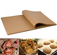 100 PCS Custom Parchment Paper Baking Sheets, 12x16 Inches Non-Stick Precut Baking Parchment