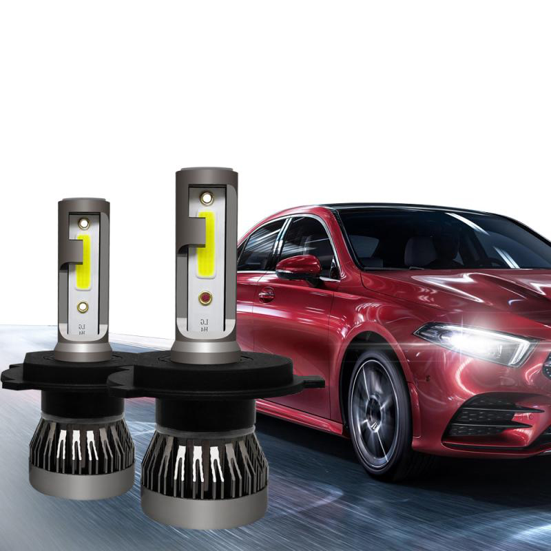 Amazon sıcak satış araba led far aksesuarları H1 H7 H11 led kafa ampul Ford focus için led lamba