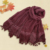Wholesale beaded lace shawls hijab with tassel scarf hijab fashion 2020  for women