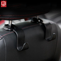Universal Car Seat Back Hook Car Accessories Interior Portable Hanger Holder Storage for Car Bag Purse Cloth Decoration Dropship