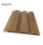 Wujin wood wpc wall panel cladding no fade interior insulated decoration