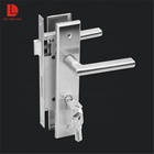WUYINGHAO high quality stainless steel 201 door handle lock for wooden door